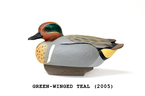 Ducks Unlimited Jett Brunet Collectible Miniature Decoy