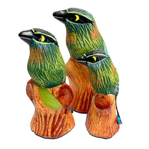Motmot Figurines