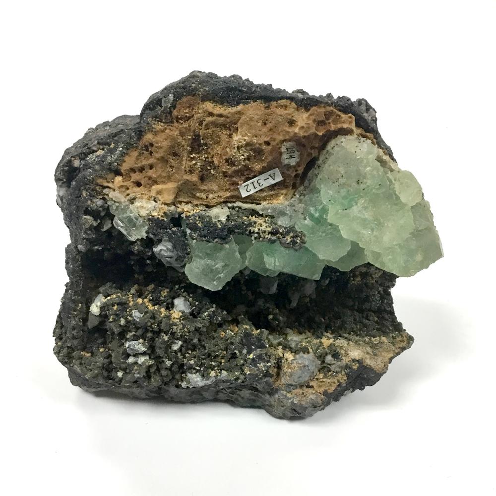 Barite-Fluorite-Quartz