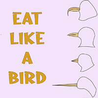 eat like a bird